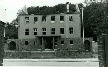 Lüpertzender Straße 69 Kriegszerstörung, am 31.08.1943