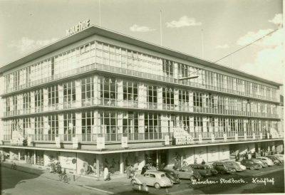 Außenansicht Kaufhof 1957