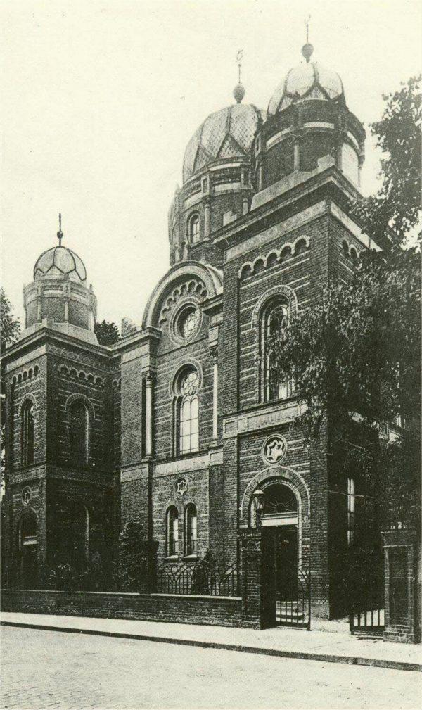 Außenansicht der Synagoge