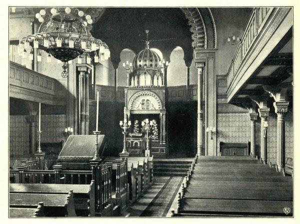 Innenansicht der Synagoge