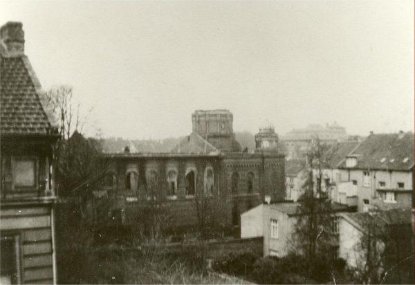 Die zerstörte Synagoge