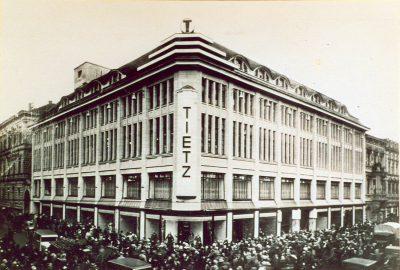 Außenansicht Kaufhaus Tietz, 1927